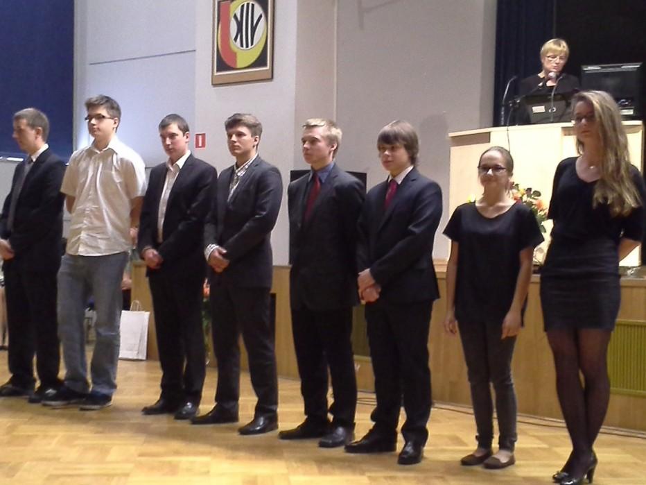Nasi licealiści na Gali Olimpijczyków we Wrocławiu