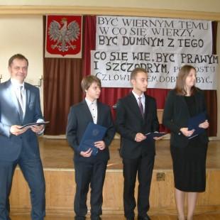 Stypendyści im. H. i W. Tyrankiewiczów – 2014