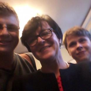 Spotkanie i selfie z Panią Minister Joanną Kluzik-Rostkowską