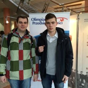 Nasi licealiści na Olimpiadzie Przedsiębiorczości