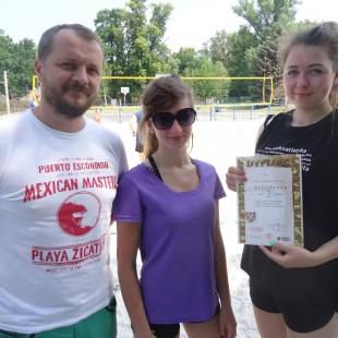 Finał strefy piłki siatkowej plażowej – chłopcy I miejsce, dziewczęta V miejsce