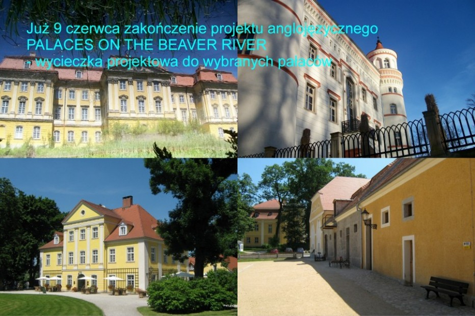 O pałacach – po angielsku