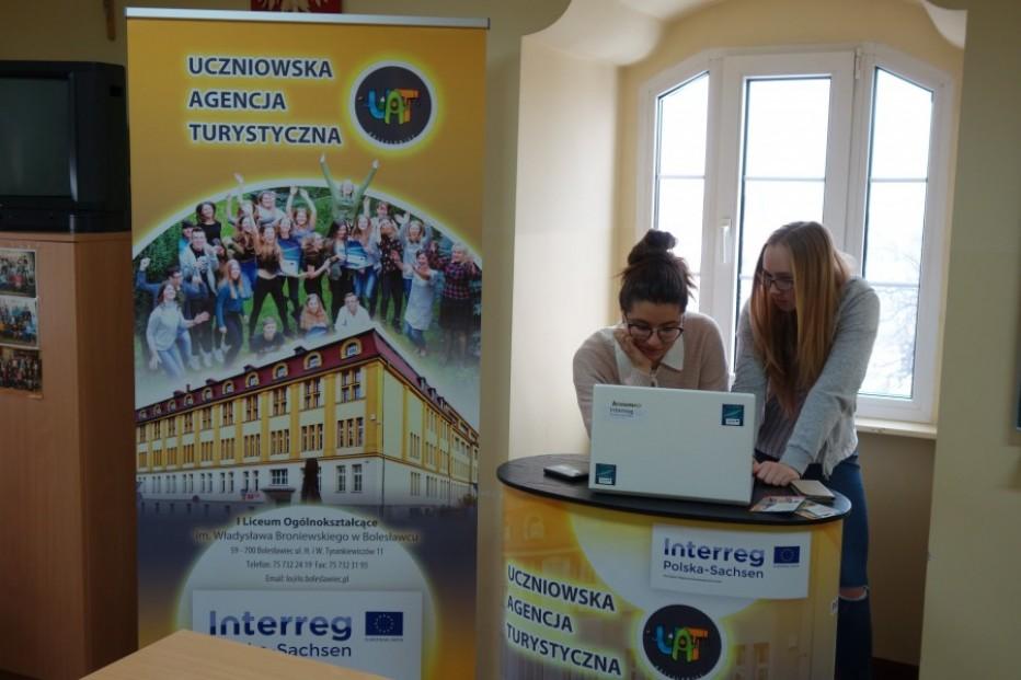 Sprzęt dla Uczniowskiej Agencji Turystycznej