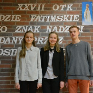 Monika Marusiak w finale Olimpiady Teologii Katolickiej