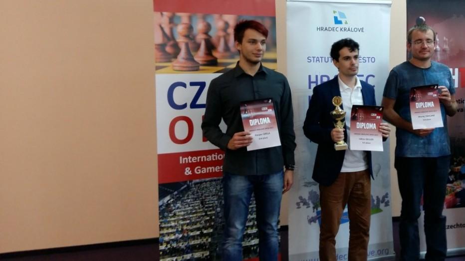 Międzynarodowy sukces szachowy Kacpra Greli