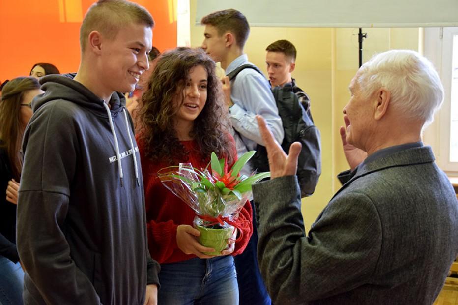 Spotkania z pierwszymi Absolwentami Liceum