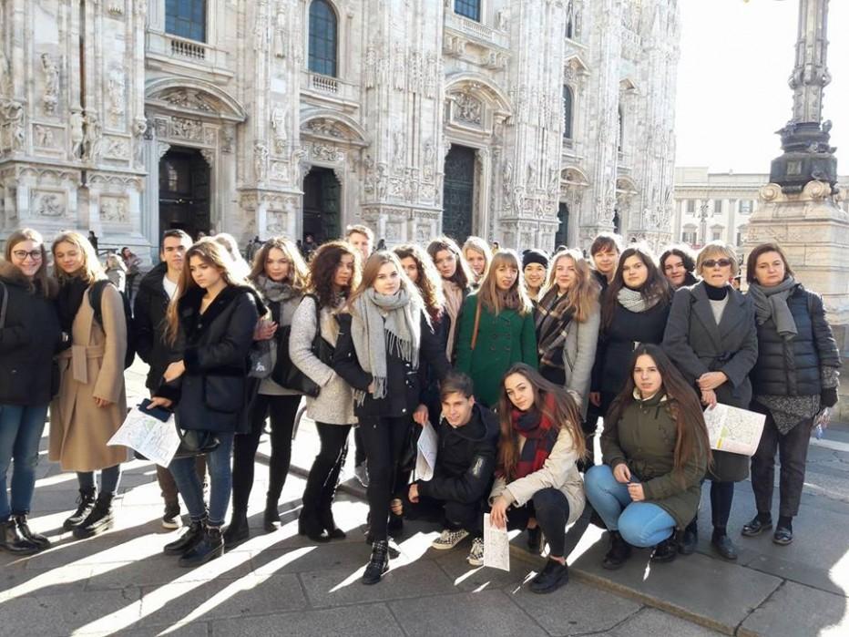 U włoskich rodzin w Piemoncie