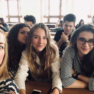 Nasi licealiści na Dniu Młodego Anglisty