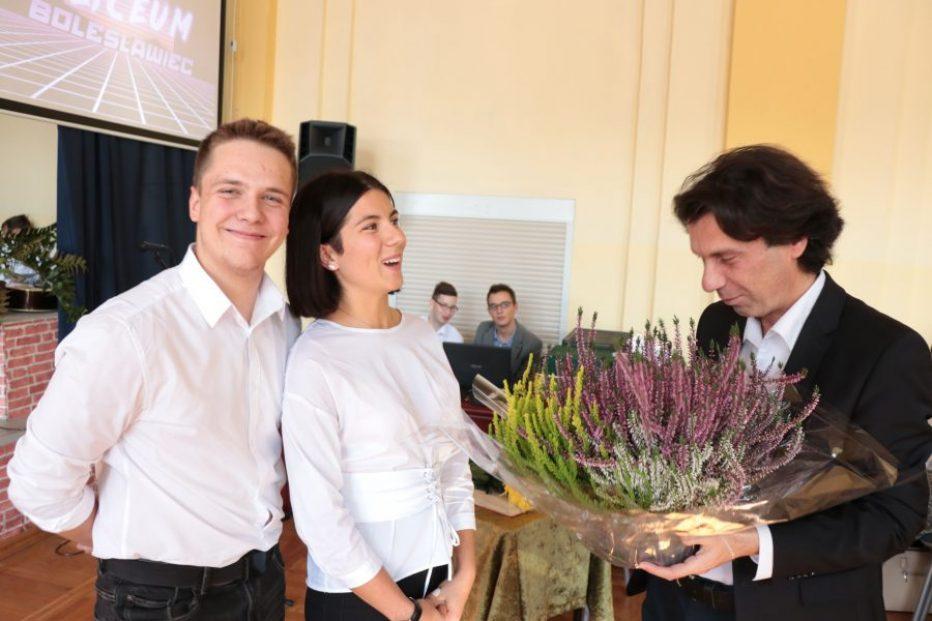 Gratulacje dla Stypendystów i Nauczycieli