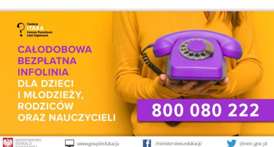 800 080 222 – to telefon, który może pomóc