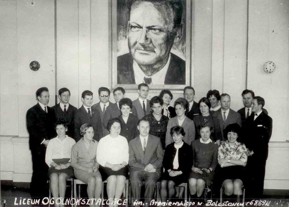 Odszedł p.Franciszek Kalisz – dyrektor Liceum w latach 1960-1972