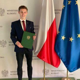 Adam Goleński w Młodzieżowej Radzie Klimatycznej