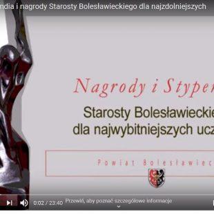 Nagrody i Stypendia Starosty 2020