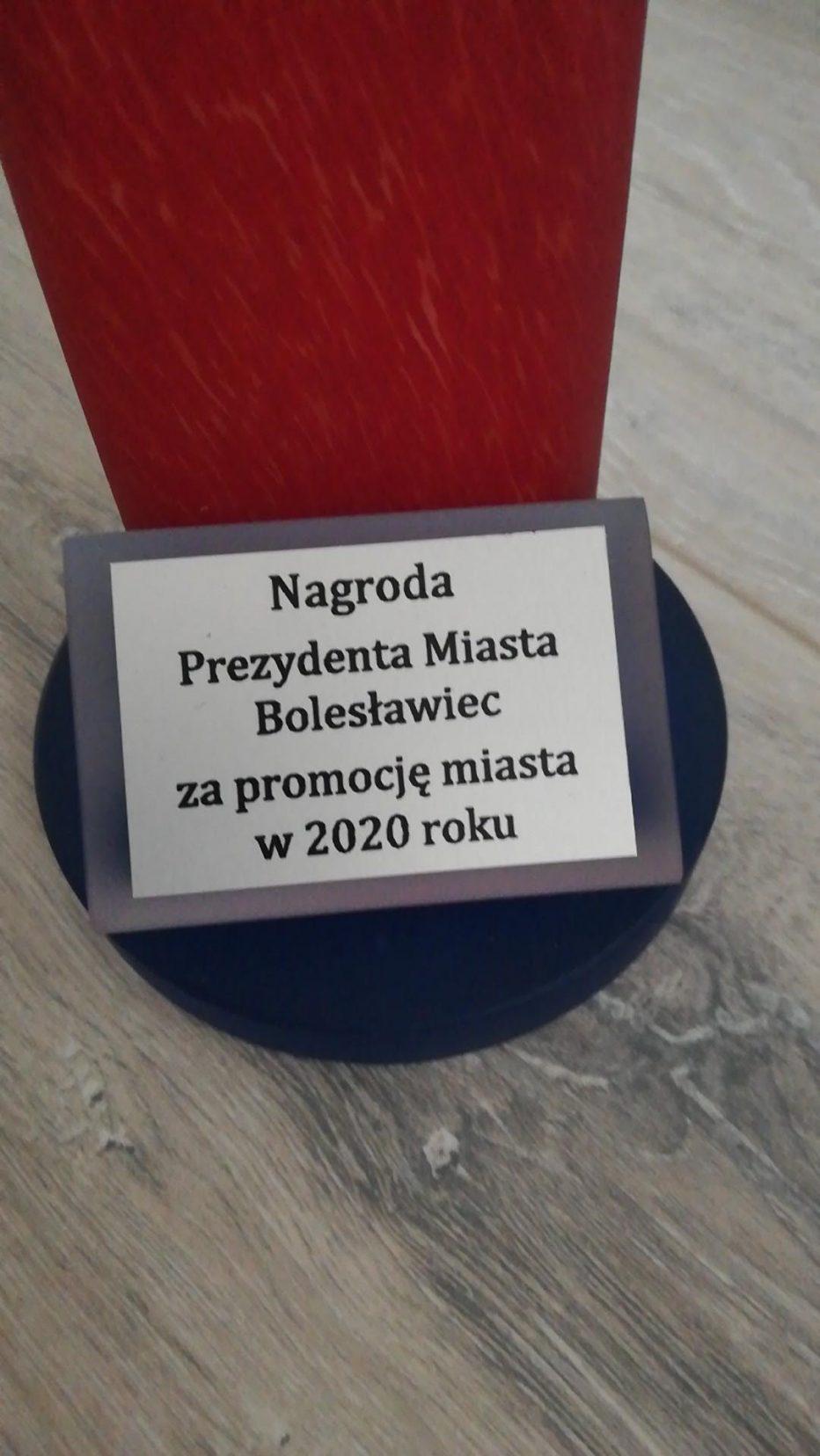 Nagrody za Promocję Miasta w 2020 roku